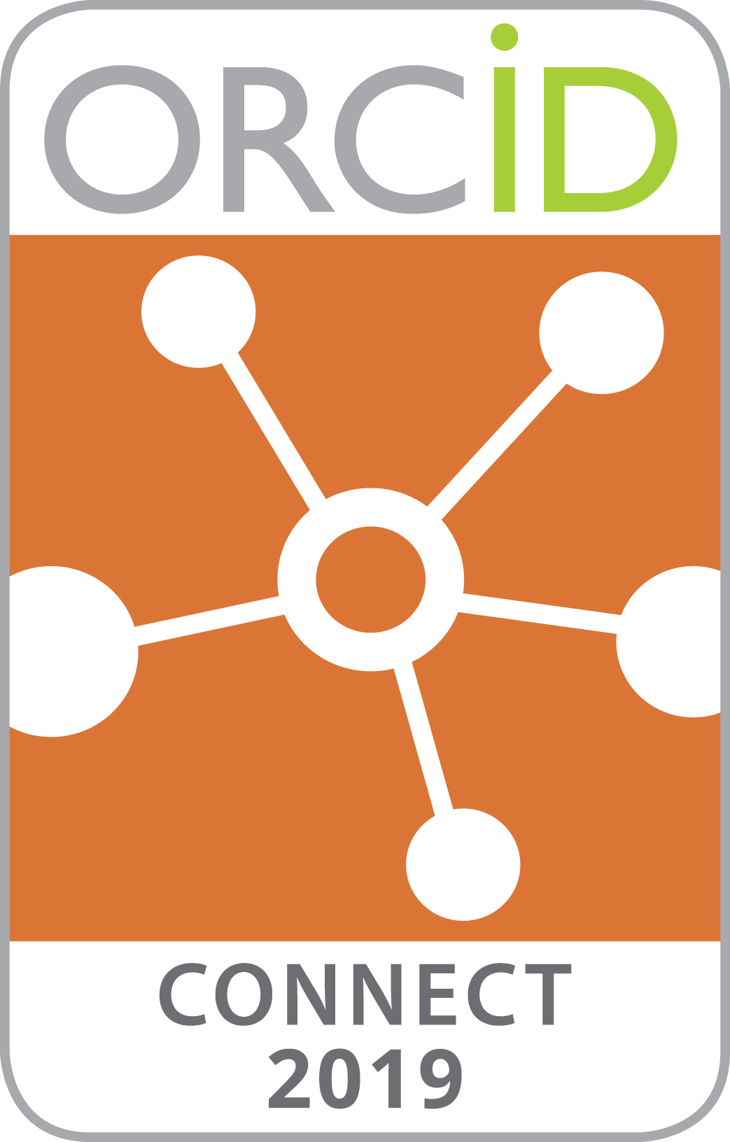 ORCID CONNECT Badge 2019